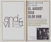 Restaurant ′And & Vin′ , 15.8. ab 19.00 Magic Rhythm Big Band